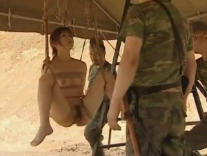 Asian slut hanging on some ropes fucked by the soldiers - XVIDEOS.COM(3)