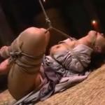 麻生早苗 女囚となり胡座縛りで拷問される夢を見る女教師