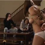 巨乳熟女は緊縛調教され奴隷ソープ嬢に堕ちていく