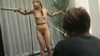 野外で緊縛水責め拷問の恐怖と苦しみに泣き叫ぶマゾ娘