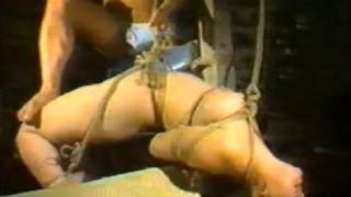 懐かしのSMビデオ むちむち巨乳M女を緊縛調教