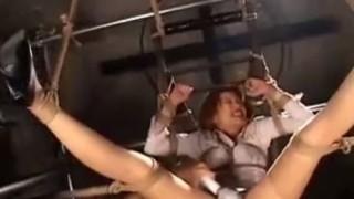 開脚縛り電マ責めに堕ちていく女捜査官