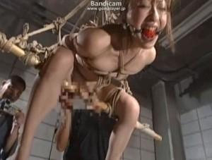 監緊縛吊りバイブ責め - エロ動画 アダルト動画