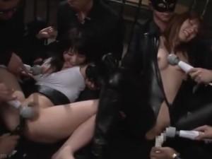 調教 拘束 電マ 美女 拷問 イキまくる 捜査官 バイブ イキ 薬(3)