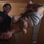 小椋まりあ 緊縛奴隷のおっぱいから母乳噴出