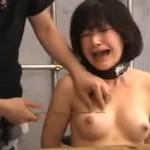 ハード拷問調教 拘束されて乳房に針をさされ絶叫するM女
