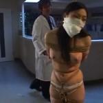 水咲ありみ 病棟で鞭打たれる緊縛マゾ女医